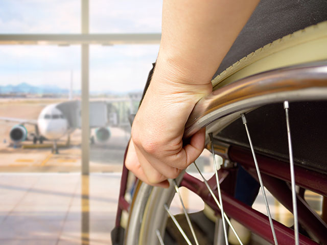 Airport trasfers for wheelchair passengers