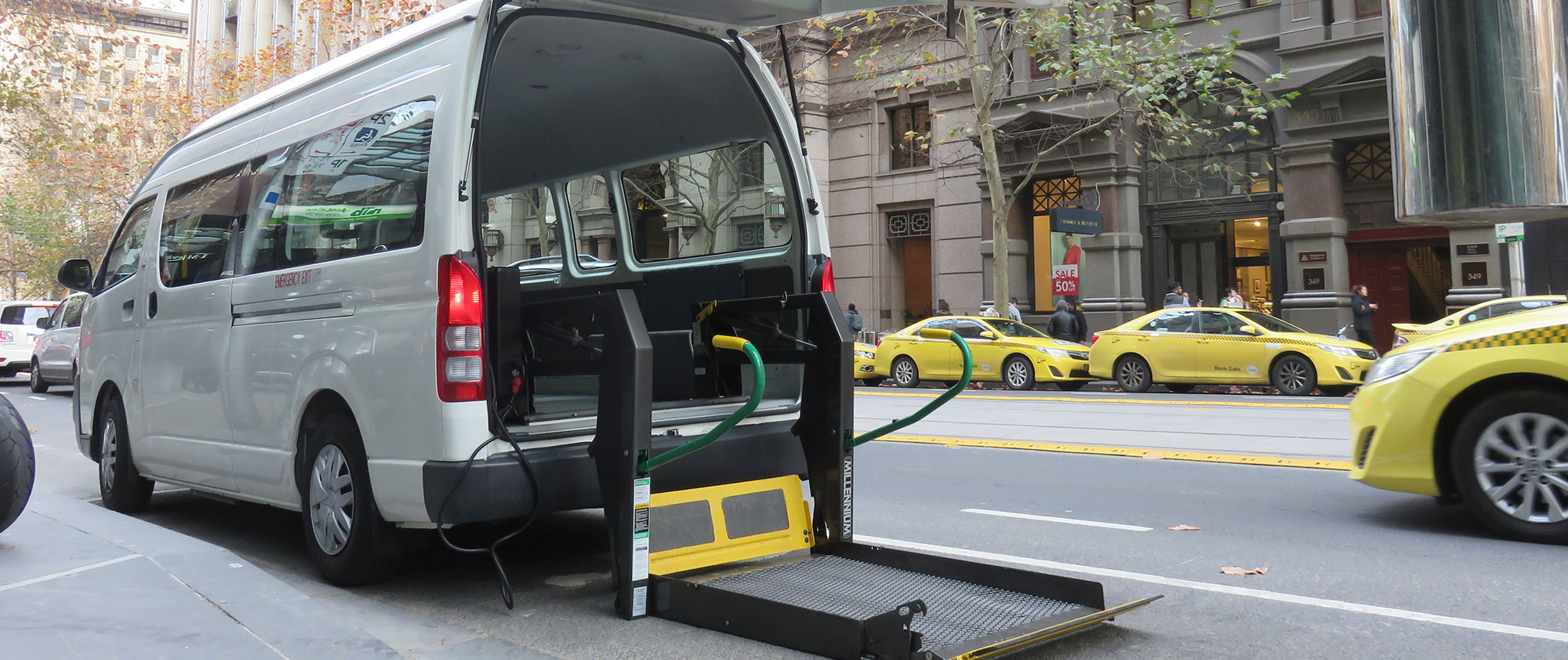 Wheelchair Taxi service Melbourne and surrounds